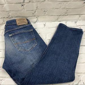 """Levi's skinny men's jeans - hemmed to 25"""" inseam"""